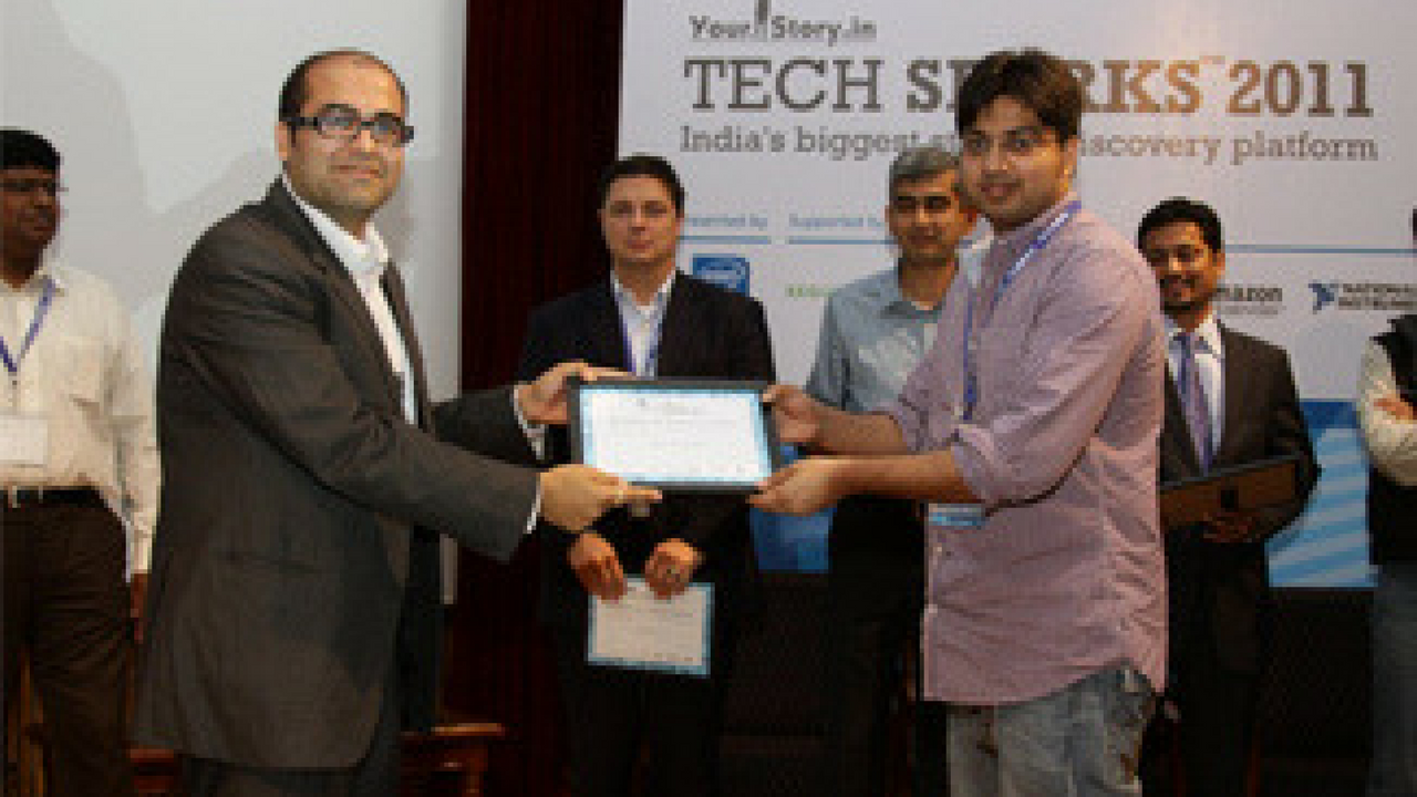 Capillary wins at TechSparks 2011