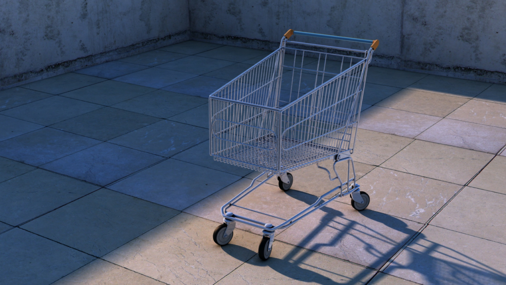 A shopping cart