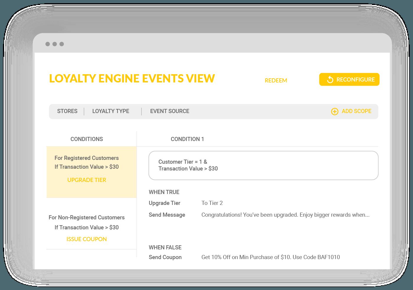 Capillary Loyalty Software Platform